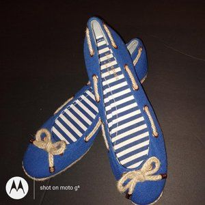 Kate Spade New York Blue Flat Shoe